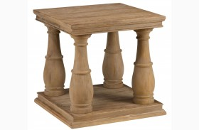 Big Sur Driftwood Brown End Table