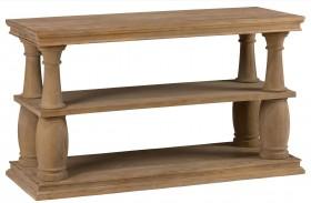 Bug Sur Driftwood Brown Sofa Table