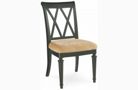 Camden Black Splat Side Chair