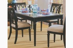 Camden Black Extendable Leg Dining Table