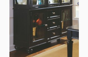 Camden Black China Buffet/Credenza