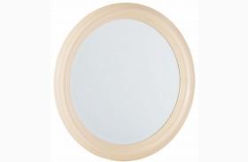 Camden Buttermilk Round Mirror