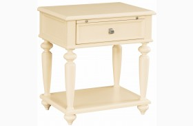 Camden Buttermilk Leg Nightstand
