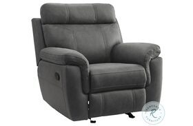 Clifton Gray Glider Reclining Chair