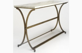 Pamina Travertine Console Table