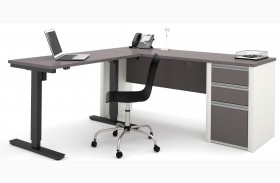 Connexion Slate & Sandstone L-Desk