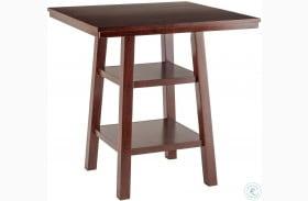 Orlando Walnut Counter Height Dining Table