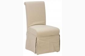 Slater Mill Slipcovered Parson Chair Set of 2