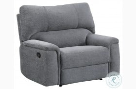 Dickinson Charcoal Recliner