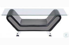 Matteo Gray And Black Cocktail Table