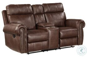 Granville Double Reclining Loveseat With Center Console