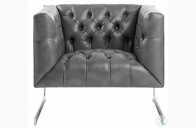 Viper Gray Lounge Chair