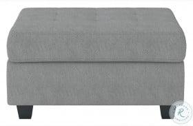 Maston Gray Storage Ottoman