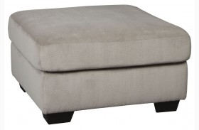 Dailey Alloy Oversized Accent Ottoman