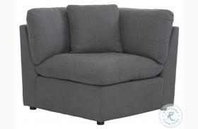 Howerton Gray Corner Chair