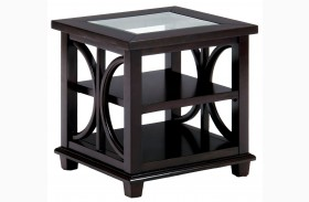 Panama Brown End Table