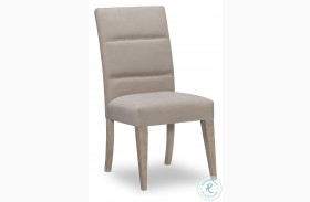 Milano Sandstone Upholstered Back Side Chair Set Of 2 By Rachael Ray
