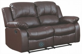 Cranley Brown Power Double Reclining Loveseat