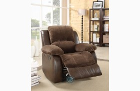 Cranley Dark Brown Reclining Chair