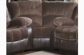 Cranley Dark Brown Corner Seat