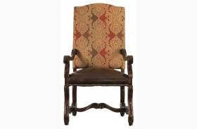 Costa Del Sol Dark Woodtone Perdonato Arm Chair