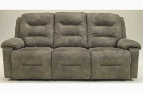 Rotation Smoke Power Reclining Sofa