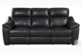 Renzo Dark Gray Power Double Reclining Sofa