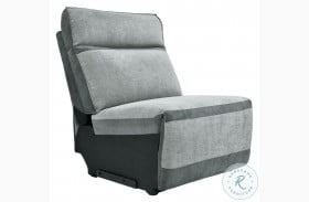 Hedera Gray Armless Chair