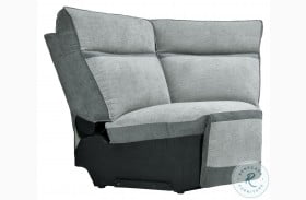 Hedera Gray Corner Seat