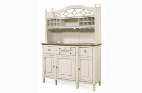 Summer Hill Cotton Buffet & Hutch