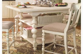 Paula Deen Home Linen Kitchen Square Extendable Gathering Table