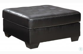Jacurso Charcoal Oversized Accent Ottoman