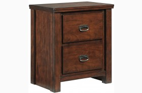 Ladiville Two Drawer Nightstand