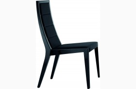 Sapphire Black Chairs - Set of 2