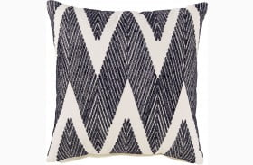Carlina Black Pillow Set of 4