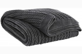 Zaid Charcoal Throw Set of 3
