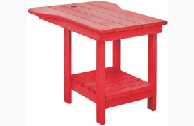 Generations Red Tete A Tete Upright Table
