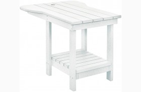 Generations White Tete A Tete Upright Table