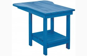 Generations Blue Tete A Tete Upright Table