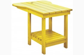 Generations Yellow Tete A Tete Upright Table