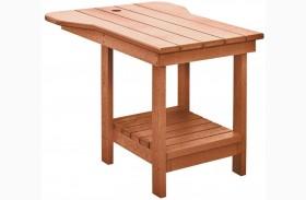 Generations Cedar Tete A Tete Upright Table