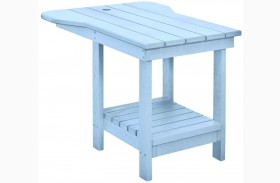 Generations Sky Blue Tete A Tete Upright Table