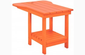 Generations Orange Tete A Tete Upright Table