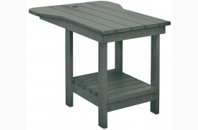 Generations Slate Grey Tete A Tete Upright Table