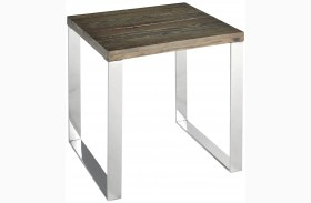 Axel Chrome End Table