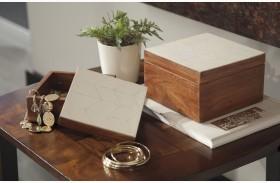 Kabecka Brown and Cream Box Set of 2