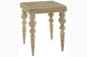 Belize Beige End Table