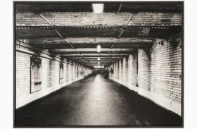 Param Black and White Wall Art