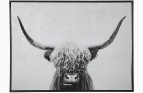 Pancho Black and White Wall Art