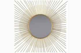 Elspeth Gold Accent Mirror